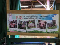Great banner at the Washington County Fair in upstate NY