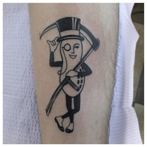 Great tattoo for people with nut allergies