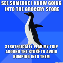 Grocery shopping is hard