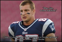 Gronk if you could have any superpower what would it be