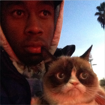 Grumpy Cat and Tyler The Creator