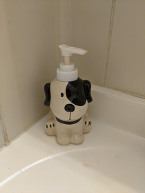 Guests in my house are told to use soapdog so then they have to ask whats soapdog