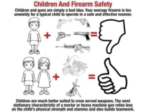 Guide on why not give guns to your kids and safer alternatives