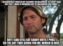 Halloween Cake Day Problems