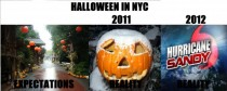 Halloween is gonna be so much fun with Hurricane Sandy