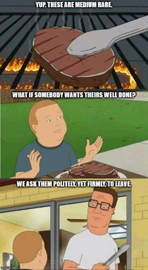 Hank Hill knows whats up