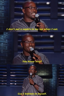 Hannibal Buress on Napkins