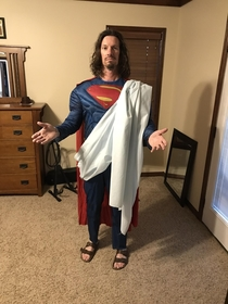 Happy Halloween from Super Jesus