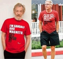 Harrison Fords response to Ian McKellen is hilarious