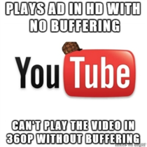 Has anyone else experienced this on YouTube