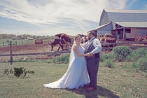Have a wedding photo shoot on the farm they said It will be fun they said
