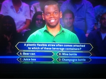 Have you guys seen Who Wants to Be a Millionaire these days