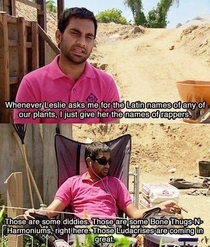 HaverfordAziz Ansari will make a great Biologist