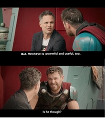 Hawkeye after not seeing him in the trailer of new Avengers movie
