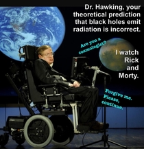 Hawking knows his place