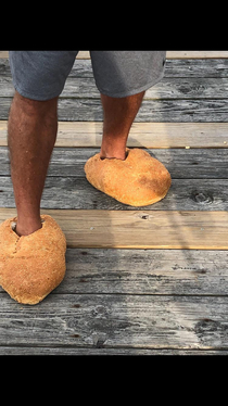 He called them his Italian Loafers