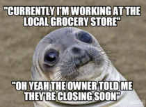 Heard this interaction between two clients today