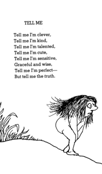 Heard you all like Shel Silverstein Heres one for the girls of rgonewild