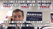 Helpless Ted Cruz