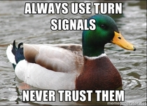 Here is some real turn signal advice from my dad This isnt just for motorcyclists
