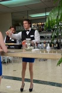 Hey bartender I have that same skirt