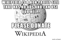 Hey guys Reddit isnt the only non profit site we use every day which struggles financially