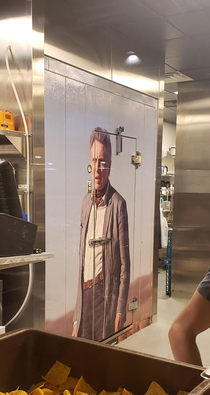 Hey Its a Christopher Walkin freezer