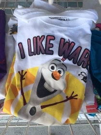 Hi Im Olaf and I like War