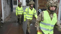 High visibility jackets spotted moving by themselves in the UK