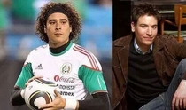 His doppelganger wasnt a wrestler but a soccer goalie playing for mexico