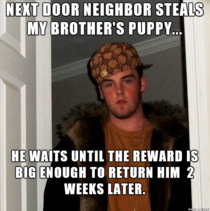 His GF was watching the puppy who was fenced in her front yard She lives in a rough neighborhood
