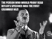 Hitlers speech proofreader revelation