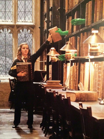 Hogwarts magic behind the camera
