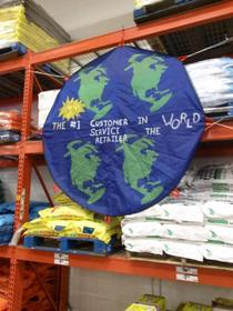 Home Depot has an interesting view of the world