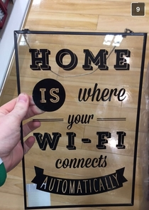 Home is where the Wi-Fi is