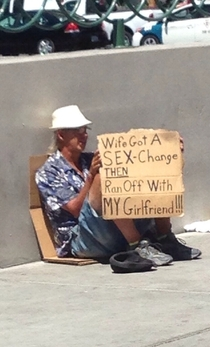 Homeless people of Vegas you are hilarious