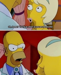 Homer was always the brightest Simpson