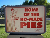 Hos do make the best pies