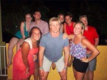 How a shoe can ruin a photo