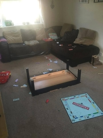 How a standard game of Monopoly ends