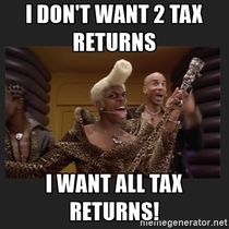 How I feel about the Trump Tax returns