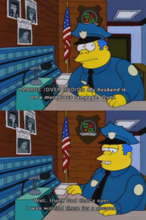 How I imagine the cops in my relatively small town whenever actual crime happens