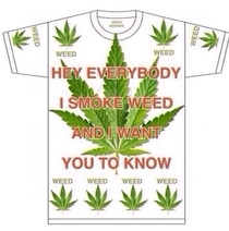 How I see most weed related shirts X-post from rtrees