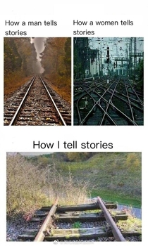 How I tell stories