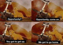 How NASA must of felt when Opportunity didnt respond