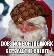 How parents feel about Scumbag Santa