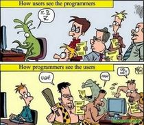 How programmers see the users