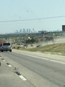 How Texans deal with traffic