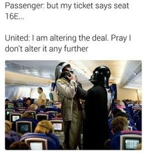How the united airlines incident actually went