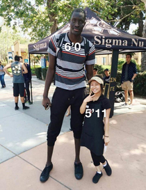 How tinder girls see height